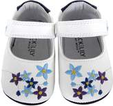 Jack & Lily Forget Me Not Booties - White, Size 30-36m