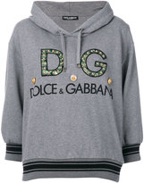 Dolce & Gabbana logo embellished hoodie