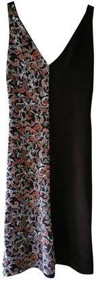 Mulberry Burgundy Silk Dress for Women