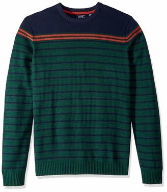 Izod Men's Big Fit 7 Gauge Crewneck Sweater