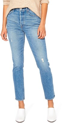 Noend Ida Modern Slim High Waist Ankle Jeans