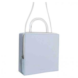 Building Block Blue Leather Handbags