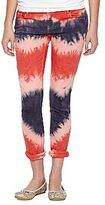 JCPenney Revolution Tie-Dyed Skinny Pants