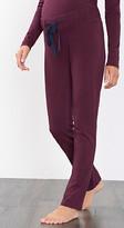 Esprit Jersey trousers + below-bump waistband