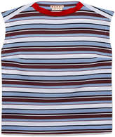 Marni Sleeveless Crewneck Striped Top