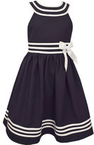 Bonnie Jean Sleeveless Drop Waist Dress - Preschool Girls