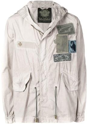 Mr & Mrs Italy Hooded Military Coat