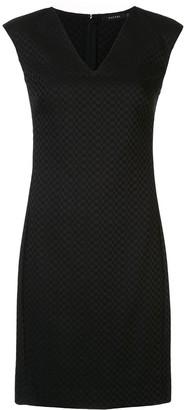 Natori Jacquard Fitted Dress