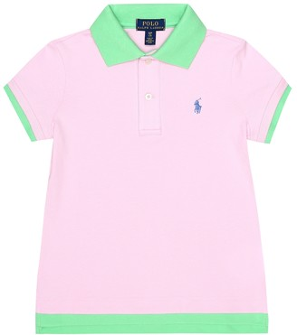Polo Ralph Lauren Kids Stretch-cotton polo shirt