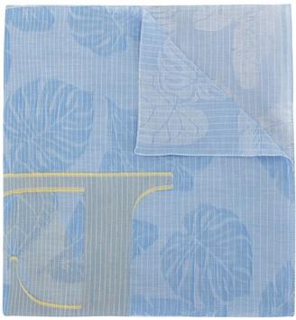 Escada Sport Leaf Print Scarf