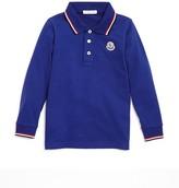 Moncler Boys' Color-Tipped Polo Shirt - Sizes 4-6