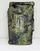 Artsac Workshop Roll Top Backpack