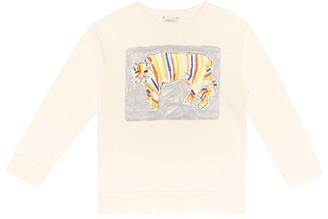 Gucci Kids Printed cotton sweatshirt