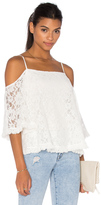 Bailey 44 Lace Tusk Cold Shoulder Top