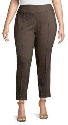 Lord & Taylor Plus Pull-On Pants