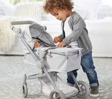 Pottery Barn Kids Convertible Stroller - New Gray/Grey Star