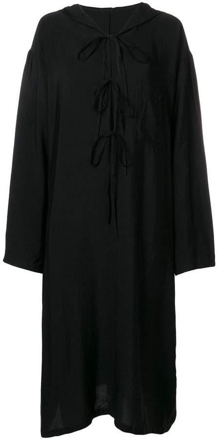 Y's hooded dress