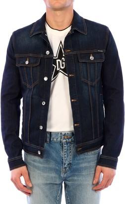 Dolce & Gabbana Blue Denim Jacket