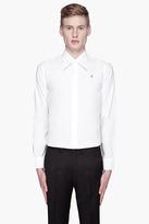 Raf Simons White retro collar shirt