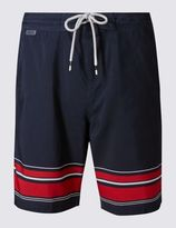 Marks and Spencer Quick Dry Striped Swim Shorts