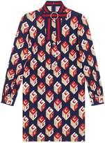 Gucci GG Wallpaper print dress