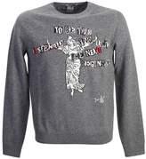 Valentino Statue Wool Cashmere Sweater