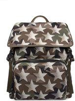 Valentino Military Green/sand Camustars Backpack
