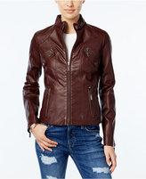 Joujou Jou Jou Faux-Leather Moto Jacket