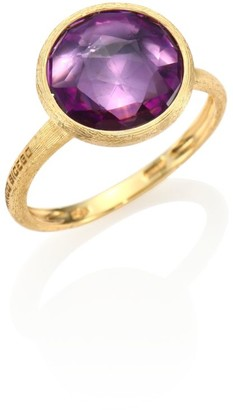 Marco Bicego Jaipur Amethyst & 18K Yellow Gold Medium Stackable Ring