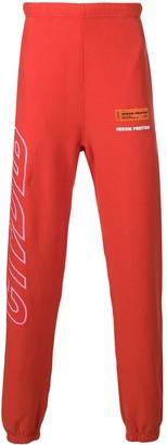 Heron Preston Logo Print Track Pants
