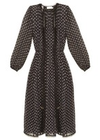 Zimmermann Havoc polka-dot silk-blend dress