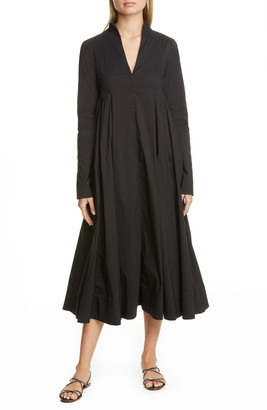 By Any Other Name Long Sleeve A-Line Midi Dress