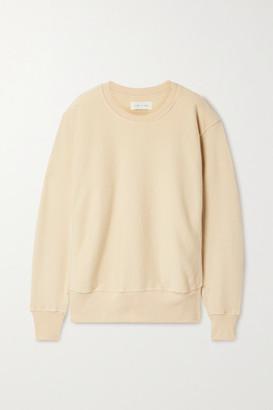 LES TIEN Cotton-jersey Sweatshirt - Beige