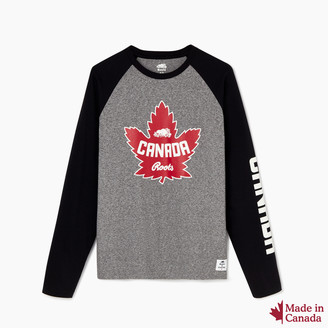 Roots Mens Canada Long Sleeve T-shirt