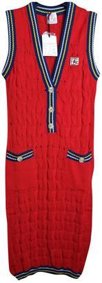 Stella Jean Red Cotton Dresses