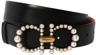 Salvatore Ferragamo 35mm Leather Belt
