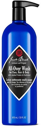 Jack Black All-Over Wash For Face, Hair And Body