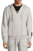 McQ by Alexander McQueen Hooded Zip-front Jacket
