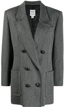 Céline Pre-Owned Pre-Owned Double-Breasted Coat