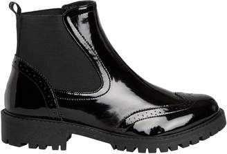 Vero Moda Round Toe Slip-On Boots
