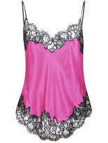 Givenchy lace insert cami top