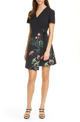 Ted Baker Mizalia Highland Faux Wrap Dress