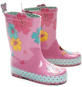 Dora the Explorer Pink Floral Rain Boot