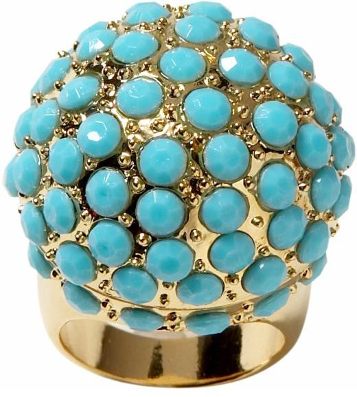 Banana Republic Turquoise dome ring