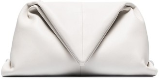 Bottega Veneta Trine angular clutch