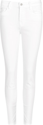 J Brand Alana White Skinny Jeans