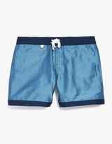 Atlantique Boardshort in Light Green - White
