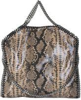 Stella McCartney Nude Python Printed Falabella Triple Chain Bag
