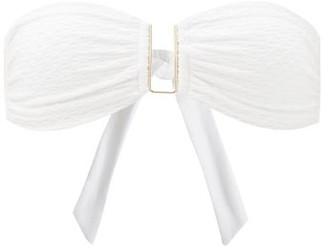 Melissa Odabash Barcelona Bandeau Bikini Top - White