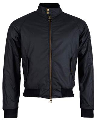 Barbour Steve Mcqueen Merchant Wax Jacket Colour: NAVY, Size: SMALL